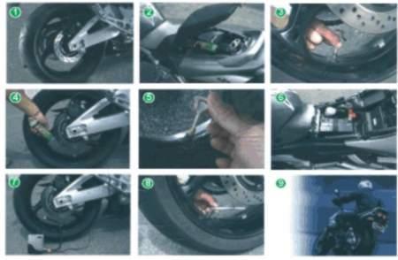 Motorgumi defektjavító készlet