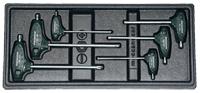 """Torx """"L"""" kulcs készlet - 6 darabos - inl."""