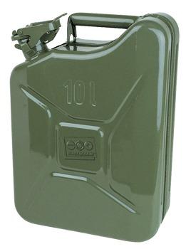 Katonai kivitelű fém marmonkanna - 10 literes