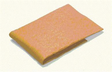 Szintetikus bőr törlőkendő